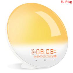 vakna ljus soluppgång väckarklocka wifi smart 7 färger soluppgång / su EU