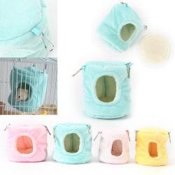 varm hamster hängmatta hängande säng hus råtta syriska hamstrar parr Green L
