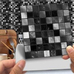 25st Kök Kakel Klistermärken Badrum Mosaik Självhäftande I 15x15cm