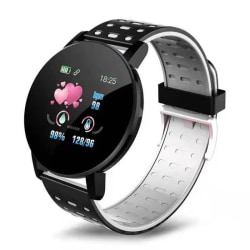 Smart Watch IP67 vattentätt armband Kondition Tracker Svart