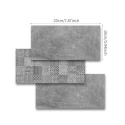 9/27/54st mosaik klistermärken kakel klistermärken självhäftande F 27Pcs