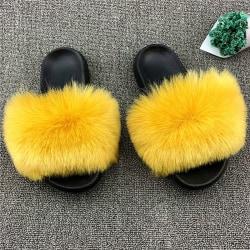 Kvinnors avslappnade tofflor bekväma ettstegs lätta skor Ingefära 36-37