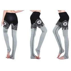 Meditation Yoga Leggings MultiColor XXXL