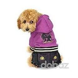 Hundklänning Lila Lila M