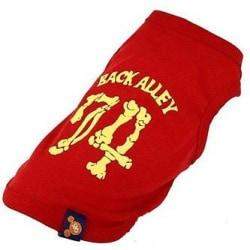 Hund t-shirt Sweet 74 röd Red XS