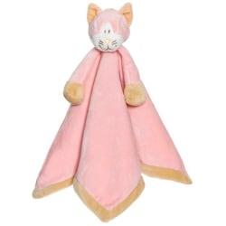 Diinglisar Snuttefilt Katt Rosa Rosa one size