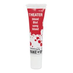 Teaterblod / Fake blod 15 ml - Halloween & Maskerad Röd one size
