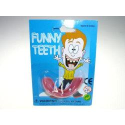 Fula tänder Skämt one size