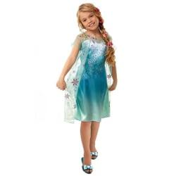 Peruk Rapunzel för barn Ljusbrun one size