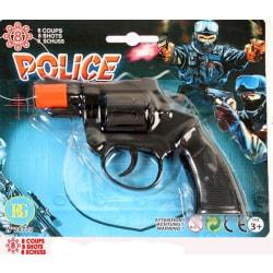 Pistol, 8 skott multifärg one size
