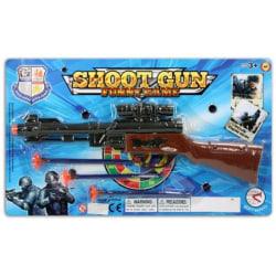Rifflepistol med skott multifärg one size