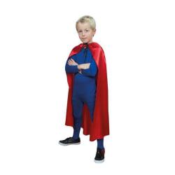 RÖD CAPE Mantel BARN 90 CM Maskerad Halloween Röd one size