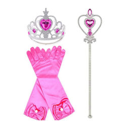 Rosa Prinsess set Rosa one size