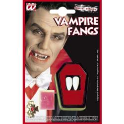 Vampyr tänder Halloween  Natur one size