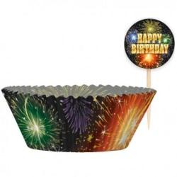 Happy Birthday Muffinsformar