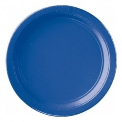 Papperstallrikar Blå(16-PACK)
