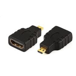 HDMI Adapter hona till HDMI-Micro hane guldpläterad