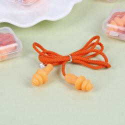 1st Mjuk silikon öronpropp återanvändbar hörselskydd öronpropp one size