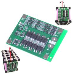 3S 25A skydd PCB-kort W / balans BMS för 18650 Li-ion lit onesize