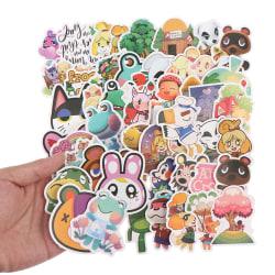 50st Animal Crossing Game Stickers Skateboard Kylskåp Laptop Lu ONE SIZE