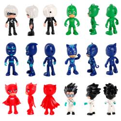 6st / set Pj-masker Catboy Cloak Actionfigurer Barnleksakgåva One Size