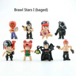 8st Barns Brawl Stars Doll Model Toy Ornaments Cake Decora Brawl Stars I (baged)