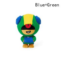 Docka mobilspel vildmark stridkort docka leksak bråk stjärnor s Blue Green