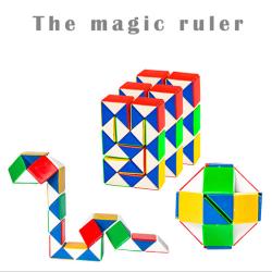 Pedagogiska leksakspussel 3d cool orm magi populärt barnspel t one size