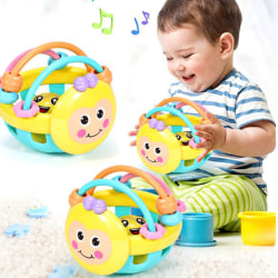 Härlig baby intelligens förmåga bad leksaker skaller roligt lilla L. onesize