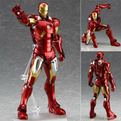 Marvel''s The Avengers Iron Man Action Figure Toy Doll Model In One Size