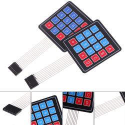Matrix-tangentbord för Arduino 4X4 Array Keypad Membrane Switch AV oneone
