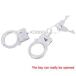 Metall Nyckelring Legering Nyckelhållare Handbojor Modell Nyckelring För B one size
