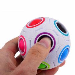 Rainbow Magic Ball Plastic Cube Twist Puzzle Barn '' 's Educ