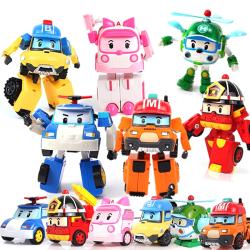 Robocar Poli Robot Transform Car Baby Kids Car Toys Gift A1