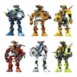 Soldater Bionicle Hero Factory Robotfigurer Byggstenar Br A