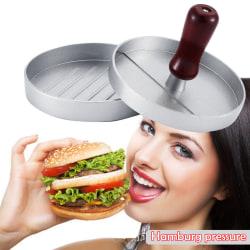 1st Rund Hamburger Meat Kitchen Diy Mold Pressing Machine