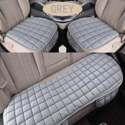Bekväm halkfri andningsbar bilkudde Gray 3pcs Suit