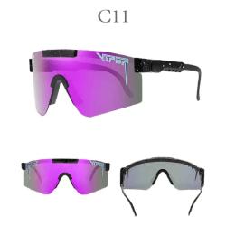 Unisex polariserade Pit Vipe sport solglasögon C11