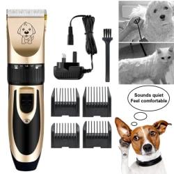 Elektrisk pälshårtrimmer för husdjur Golden