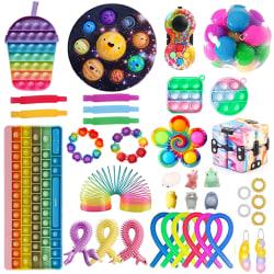 38st Fidget Toys Pack Sensory Pop it Party Present