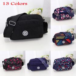 Mode Kvinnor Messenger Väskor Vattentät Casual Crossbody Bag Black