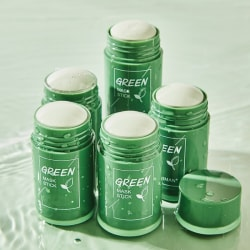 Grön te-stickmask tar bort hudormar Oljekontroll Anti-Ac Green Tea