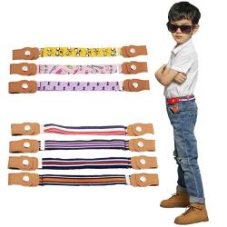 Barn spänningsfria elastiska bälte kanfasbälten justerbara bälten D015
