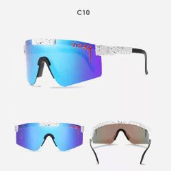 Unisex polariserade sport solglasögon C10