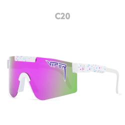 Unisex polariserade sport solglasögon C20