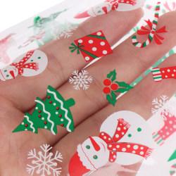 100st / set Behandla väska kakgodis presentpåsar till juläpple