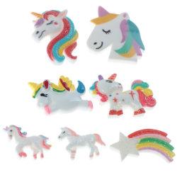 10st enhörning för barn DIY hantverk dekoration tillbehör tillbaka R