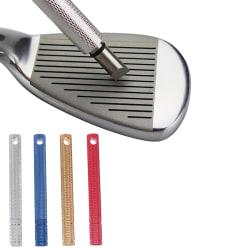 1PC Golf Club Grooving Sharpen Tool Golf Groove Sharpener Wedge Silver