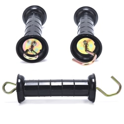1pc Heavy Duty Electric Fence Arch Hook Gate Handle Spring Insi