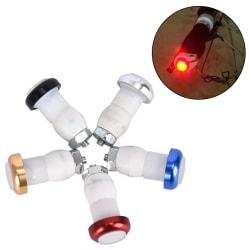 2st Vägcykel Blinkers LED-lampor Indikatorlampa Steeri Blue